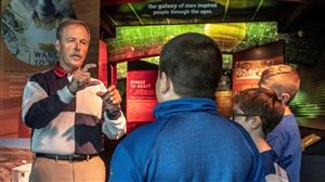 Astronaut with LI roots launches exhibit