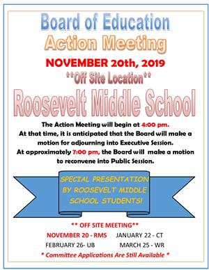 BOE Action Meeting 112019