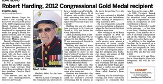 Roosevelt's own Congressional Gold Medalist