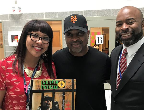 Chuck D Return To Roosevelt Middle School